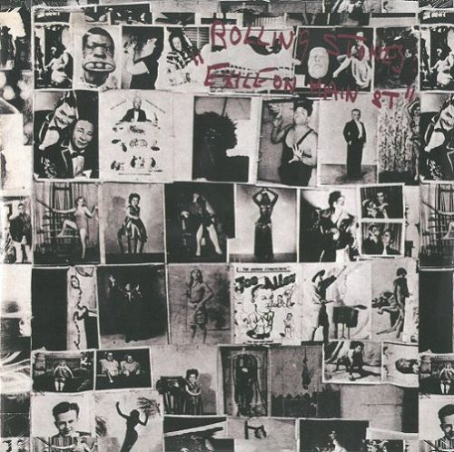 THE ROLLING STONES Exile On Main Street Vinyl Record LP Rolling Stones 2010